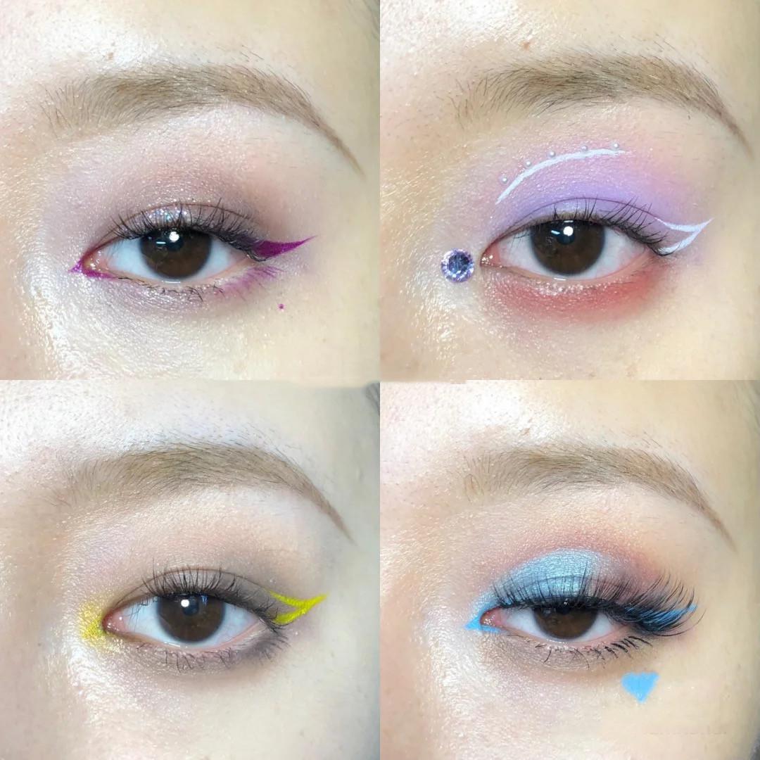Color eyeliner